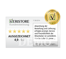 Veristore-Badge horizontal